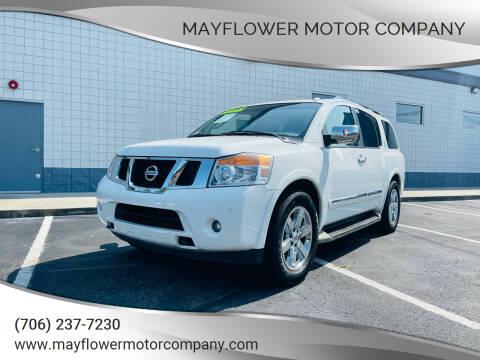2012 Nissan Armada for sale at Mayflower Motor Company in Rome GA
