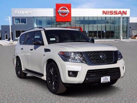 2020 Nissan Armada for sale at EMPIRE LAKEWOOD NISSAN in Lakewood CO