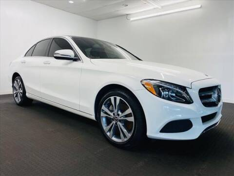 2018 Mercedes-Benz C-Class for sale at Champagne Motor Car Company in Willimantic CT
