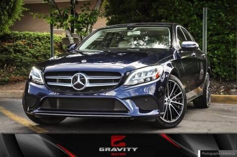 2020 Mercedes-Benz C-Class for sale at Gravity Autos Atlanta in Atlanta GA