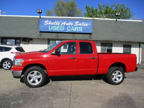 2006 Dodge Ram Pickup 1500 for sale at SHULTS AUTO SALES INC. in Crystal Lake IL