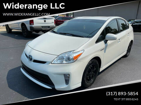 2014 Toyota Prius for sale at Widerange LLC in Greenwood IN