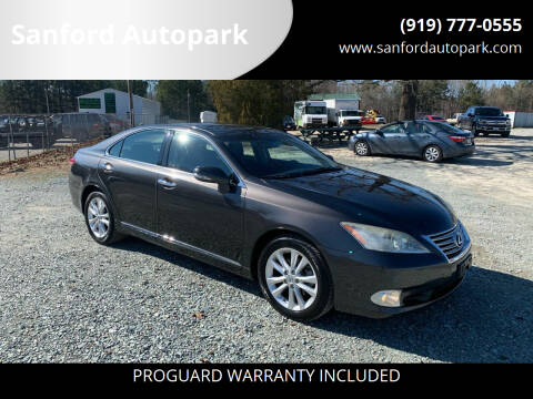 2010 Lexus ES 350 for sale at Sanford Autopark in Sanford NC