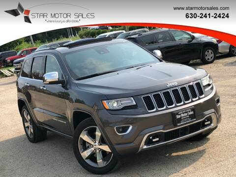 2016 Jeep Grand Cherokee for sale at Star Motor Sales in Downers Grove IL