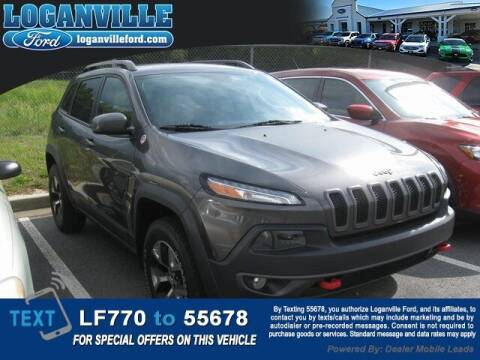 2017 Jeep Cherokee for sale at Loganville Quick Lane and Tire Center in Loganville GA