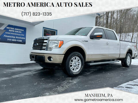 2013 Ford F-150 for sale at METRO AMERICA AUTO SALES of Manheim in Manheim PA