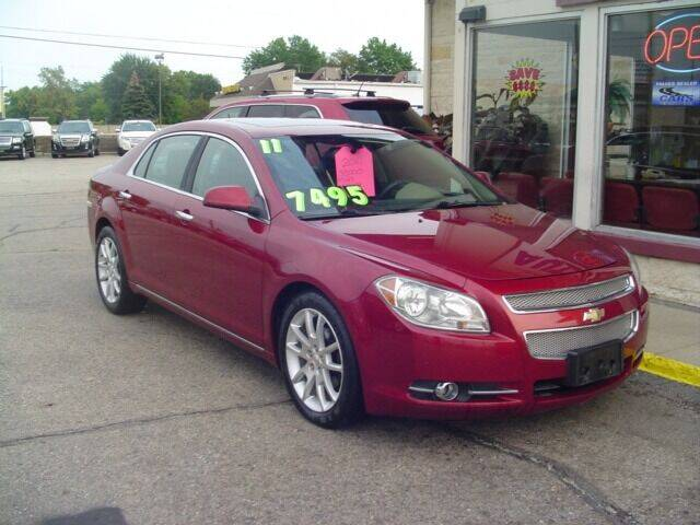 2011 Chevrolet Malibu for sale at G & L Auto Sales Inc in Roseville MI