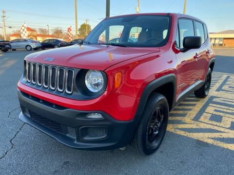 2018 Jeep Renegade for sale at Auto America - Monroe in Monroe NC