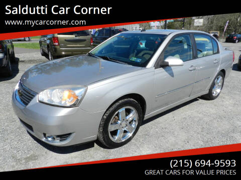 2006 Chevrolet Malibu for sale at Saldutti Car Corner in Gilbertsville PA