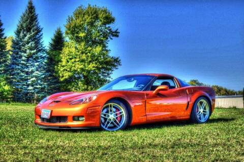 2007 Chevrolet Corvette for sale at Hooked On Classics in Watertown MN