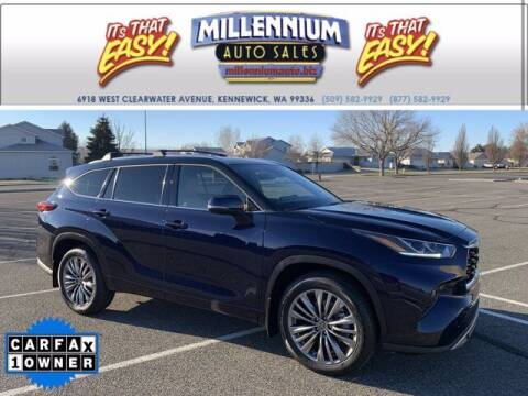 2020 Toyota Highlander for sale at Millennium Auto Sales in Kennewick WA