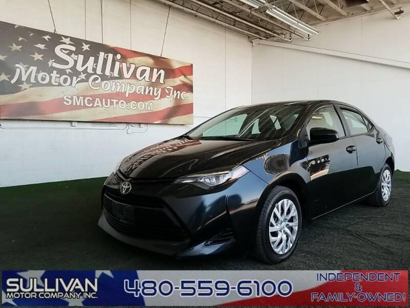 2017 Toyota Corolla for sale at SULLIVAN MOTOR COMPANY INC. in Mesa AZ