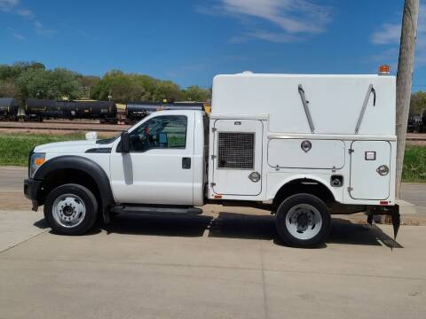 2013 Ford F-450 Super Duty for sale at J & J Auto Sales in Sioux City IA