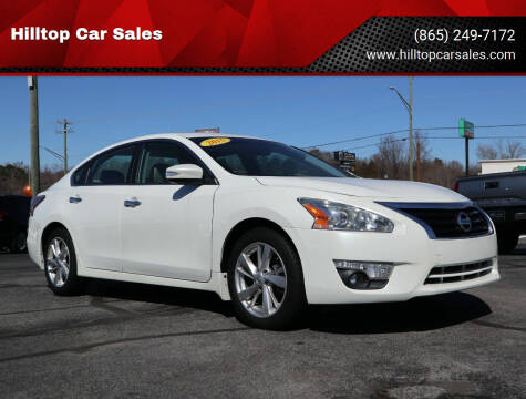 2015 Nissan Altima for sale at Hilltop Car Sales in Knox TN