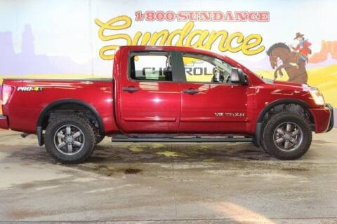 2015 Nissan Titan for sale at Sundance Chevrolet in Grand Ledge MI