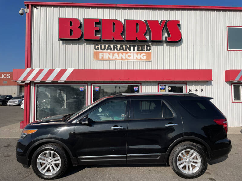 2014 Ford Explorer for sale at Berry's Cherries Auto in Billings MT
