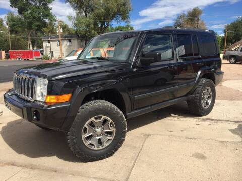 2008 Jeep Commander for sale at PYRAMID MOTORS AUTO SALES in Florence CO