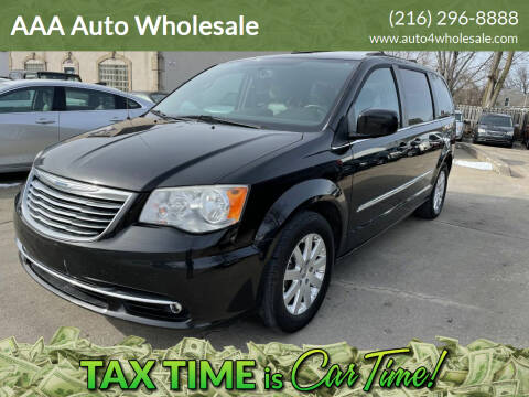 2014 Chrysler Town and Country for sale at AAA Auto Wholesale in Parma OH