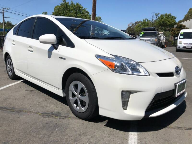 2013 Toyota Prius for sale at Martinez Truck and Auto Sales in Martinez CA