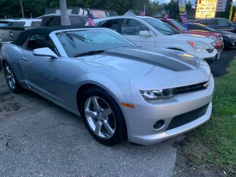 2014 Chevrolet Camaro for sale at 1st Choice Auto Sales in Newport News VA
