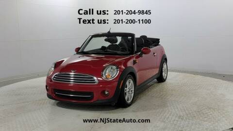 2014 MINI Convertible for sale at NJ State Auto Used Cars in Jersey City NJ
