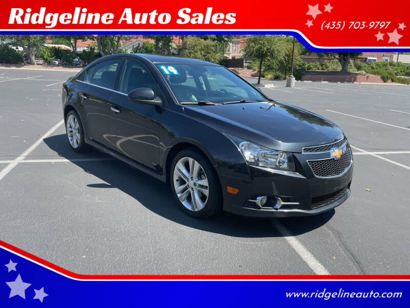 2014 Chevrolet Cruze for sale at Ridgeline Auto Sales in Saint George UT