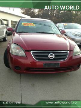 2004 Nissan Altima for sale at Auto World in Carbondale IL