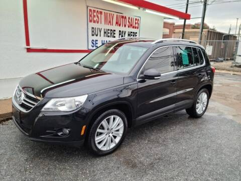 2011 Volkswagen Tiguan for sale at Best Way Auto Sales II in Houston TX