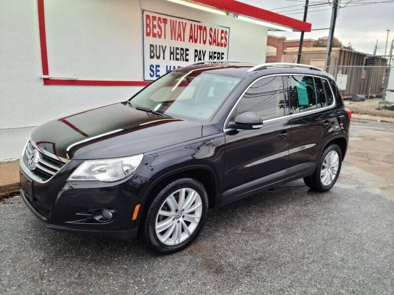 2011 Volkswagen Tiguan for sale at Best Way Auto Sales II in Houston TX