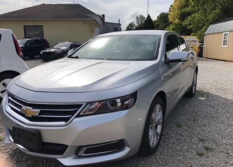 2014 Chevrolet Impala for sale at Claborn Motors, INC in Cambridge City IN