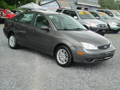 2005 Ford Focus for sale at Saratoga Motors in Gansevoort NY