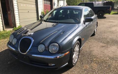2001 Jaguar S-Type for sale at Richard C Peck Auto Sales in Wellsville NY