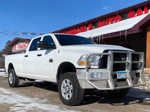 2012 RAM Ram Pickup 2500 for sale at Affordable Auto Sales in Cambridge MN