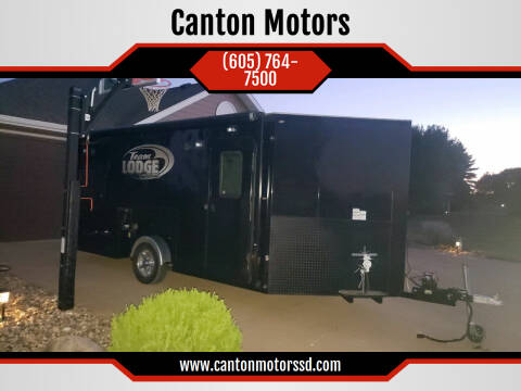 2015 Distinct Builder Inc Ice Lodge Extreme for sale at Canton Motors in Canton SD