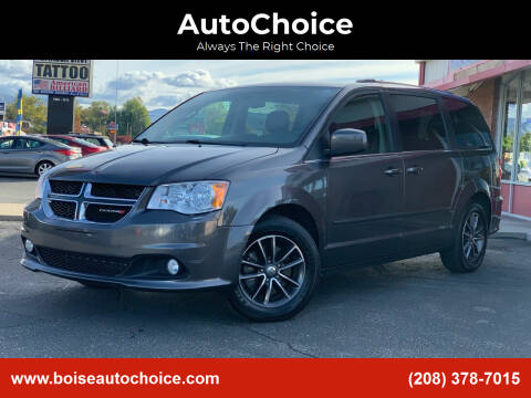 2017 Dodge Grand Caravan for sale at AutoChoice in Boise ID