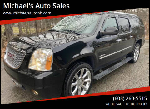 2013 GMC Yukon XL for sale at Michael's Auto Sales in Derry NH
