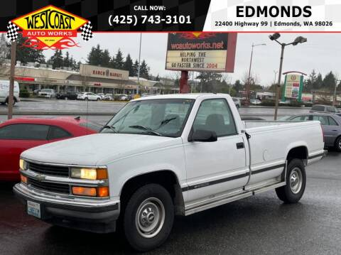 1996 Chevrolet C/K 2500 Series for sale at West Coast Auto Works in Edmonds WA