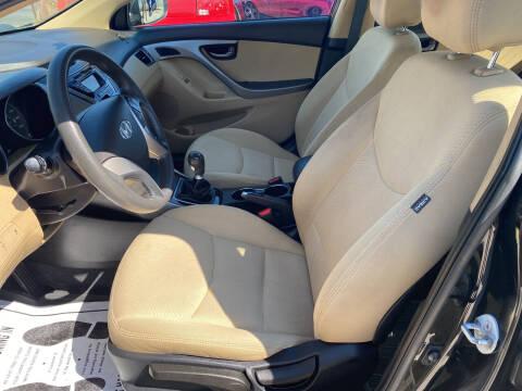 2013 Hyundai Elantra for sale at Advantage Motors in Newport News VA