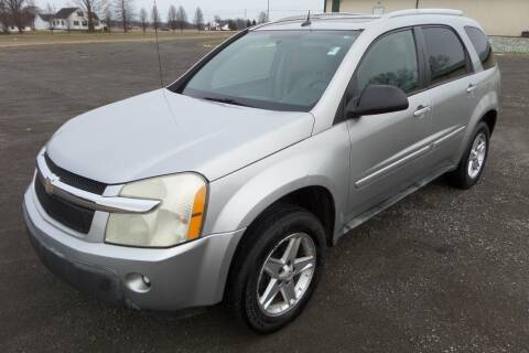 2005 Chevrolet Equinox for sale at WESTERN RESERVE AUTO SALES in Beloit OH
