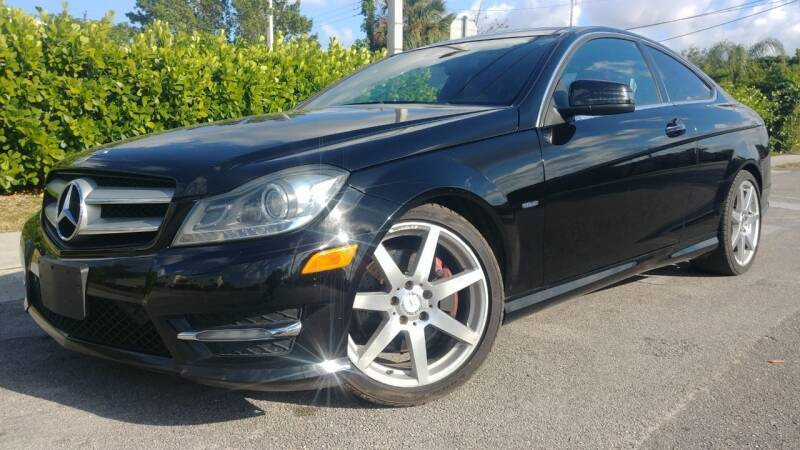 2012 Mercedes-Benz C-Class for sale at Easy Finance Motors in West Park FL