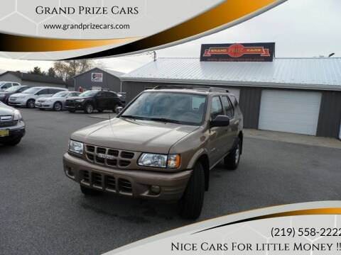2002 Isuzu Rodeo for sale at Grand Prize Cars in Cedar Lake IN