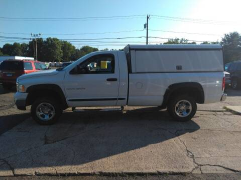 2005 Dodge Ram Pickup 1500 for sale at Guilford Auto in Guilford CT