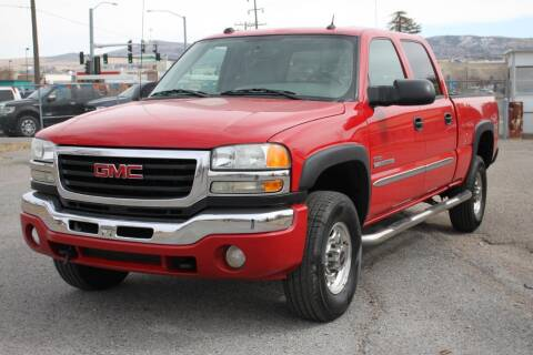 2004 GMC Sierra 2500HD for sale at Motor City Idaho in Pocatello ID