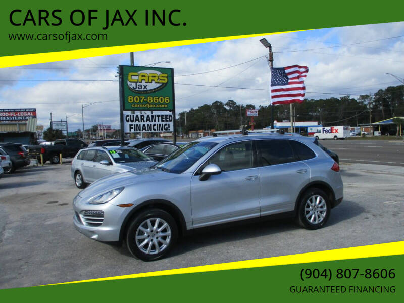 2013 Porsche Cayenne for sale at CARS OF JAX INC. in Jacksonville FL