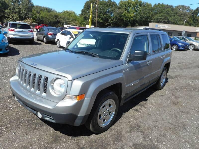 2016 Jeep Patriot for sale at Auto Center Elite Vehicles LLC in Spartanburg SC