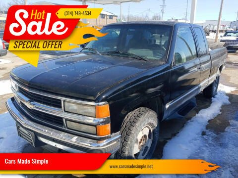 1994 Chevrolet C/K 1500 Series for sale at Cars Made Simple in Union MO