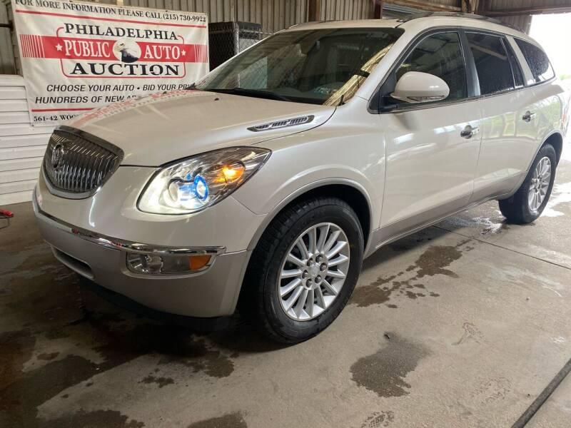 2010 Buick Enclave for sale at Philadelphia Public Auto Auction in Philadelphia PA