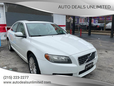 2007 Volvo S80 for sale at AUTO DEALS UNLIMITED in Philadelphia PA