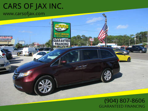 2015 Honda Odyssey for sale at CARS OF JAX INC. in Jacksonville FL