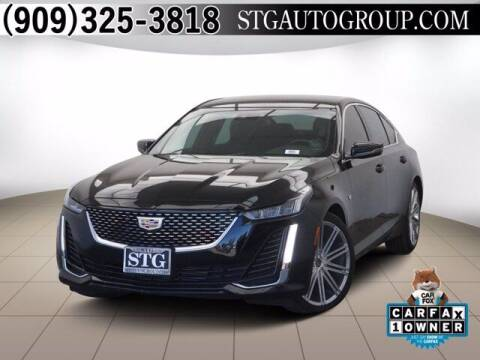 2020 Cadillac CT5 for sale at STG Auto Group in Montclair CA